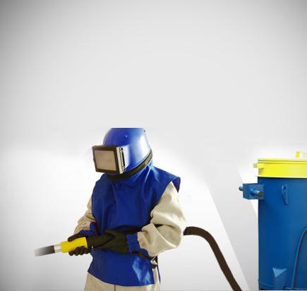 Бесконтактная очистка металла