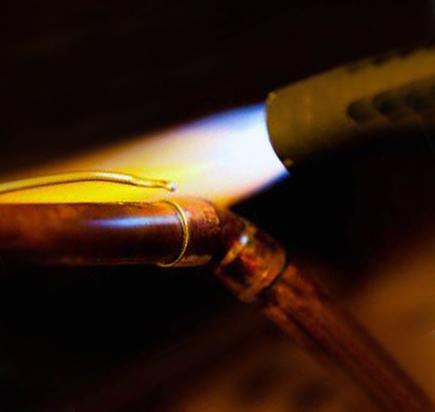 Газопламенная очистка металла