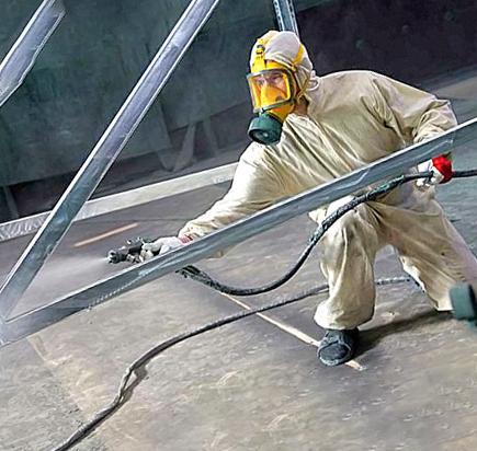 Очистка металла перед покраской