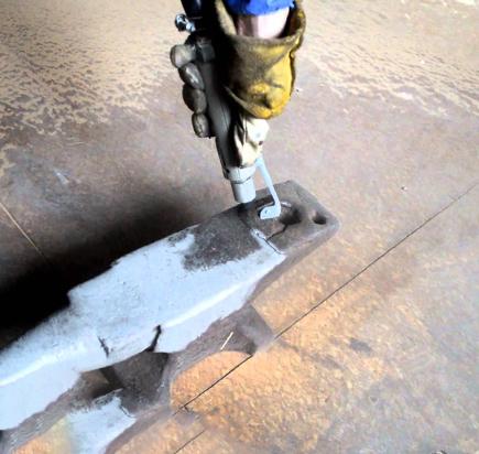 Очистка поверхности металла
