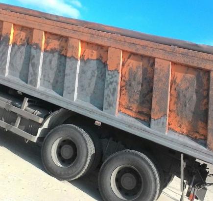 Пескоструй грузовика