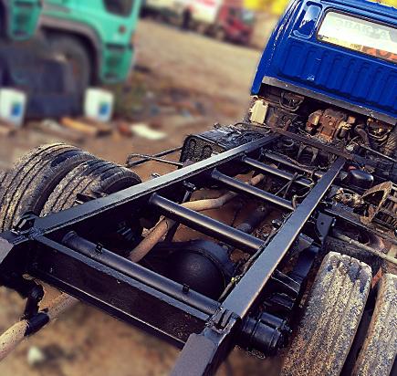 Пескоструй грузовых автомобилей