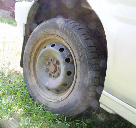 Пескоструй колес