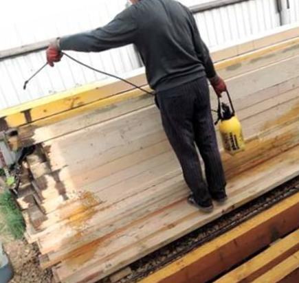 Пескоструйная обработка древесины