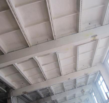 Пескоструйная обработка потолка