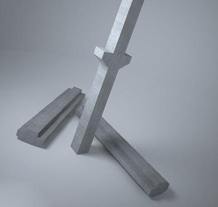 Пескоструйная обработка ж б колонн