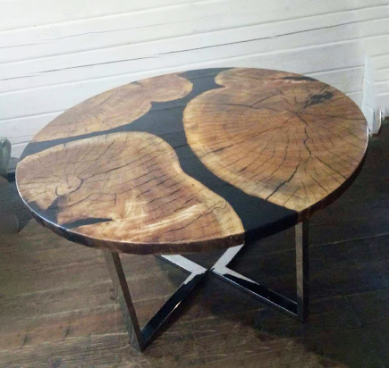 Реставрация поверхности стола