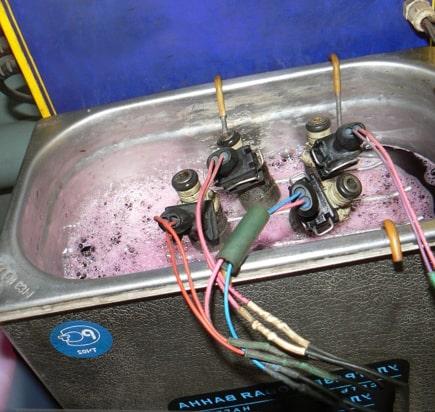 Ультразвуковая очистка металла