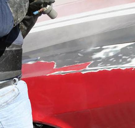 Пескоструйная обработка кузова и кузовных элементов