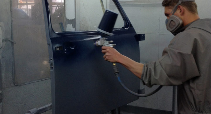 Восстановление лакокрасочного покрытия
