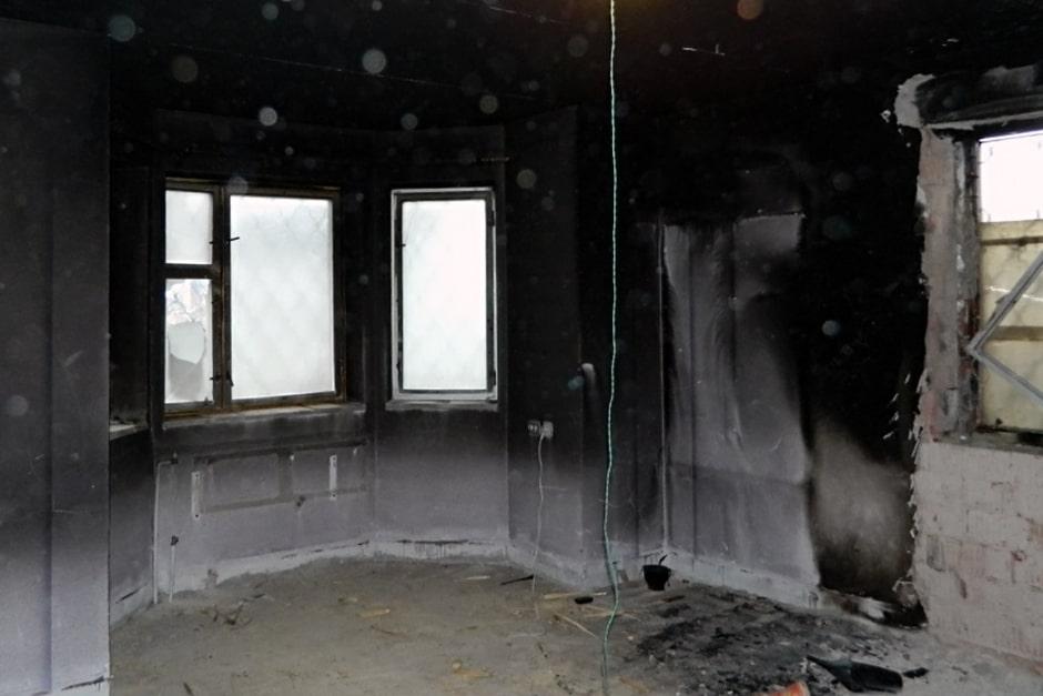 Как избавиться от гари после пожара
