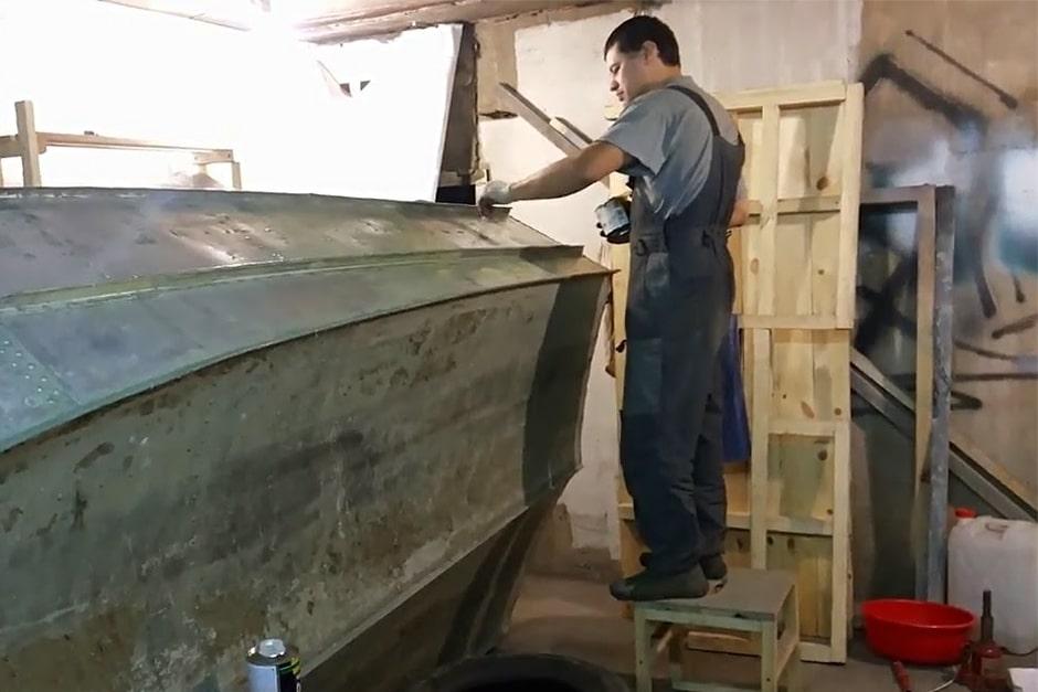 Как очистить лодку